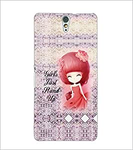 PrintDhaba Quote D-3235 Back Case Cover for SONY XPERIA C5 ULTRA (Multi-Coloured)