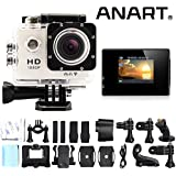 ANART® SPC-01 W8 WIFI Waterproof 1080P 12MP 170 Degree Sports DV Video Action Camera Camcorder White