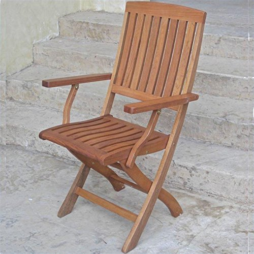 Wyndham Folding Patio Adirondack Arm Chair, set of 2 picture