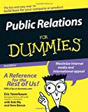 img - for Public Relations For Dummies book / textbook / text book