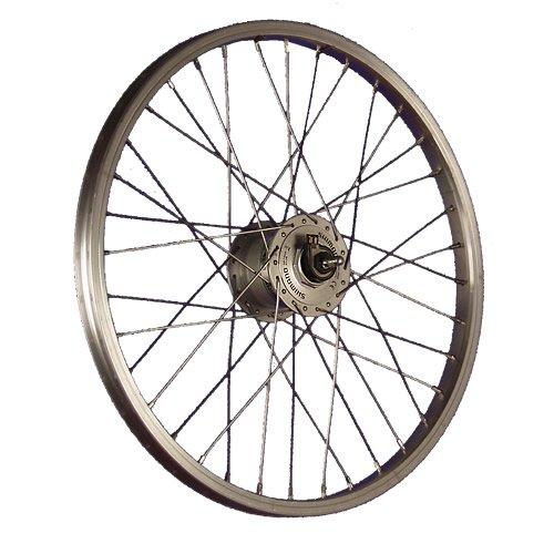 Taylor Wheels 20 Zoll Vorderrad Aluminiumfelge Shimano Nabendynamo DH-3N31