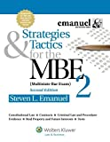 img - for Strategies & Tactics for the MBE 2, Second Edition (Emanuel Bar Review Series) book / textbook / text book