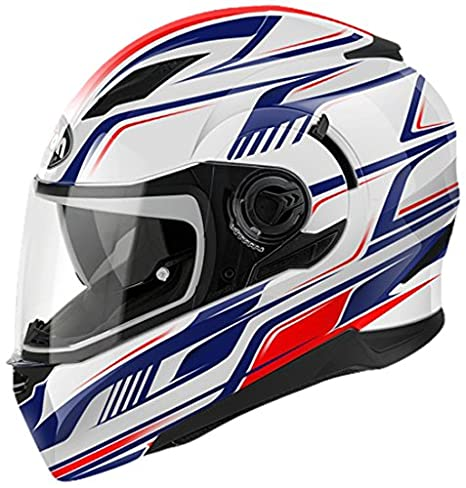 Airoh MVFR55XL Casque Intégral, Multicolore, Taille : XL