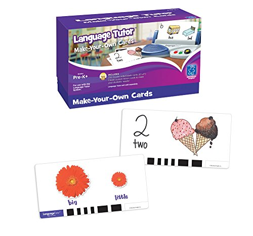 Educational Insights Language Tutor: Make-Your-Own Cards