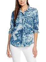 Cortefiel Camisa Mujer (Azul)
