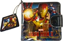 Wallet for Boys - The Avengers Iron Man 3 Mark 42 Suit Coin Purse Pocket Billfold Wallet Accessories Gift for Boy