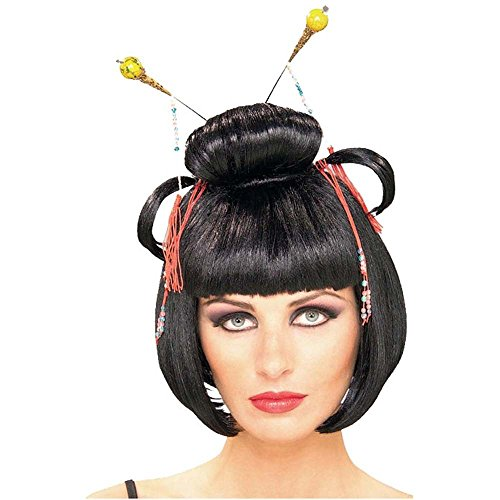 Asian Lady Adult Wig