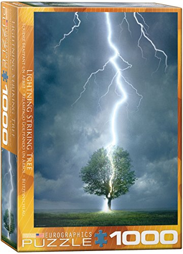 Eurographics Lighting Striking Tree 1000-Piece Puzzle (Nature Puzzle 1000 compare prices)