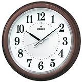 SEIKO CLOCK (セイコークロック) 掛け時計 防災 安心ライト(LED)付 自動点灯付 電波時計 KX351B