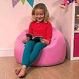 Bean Bag Bazaar groß Kinder Sitzsack SUGAR PINK-100% Wasserabweisend Indoor