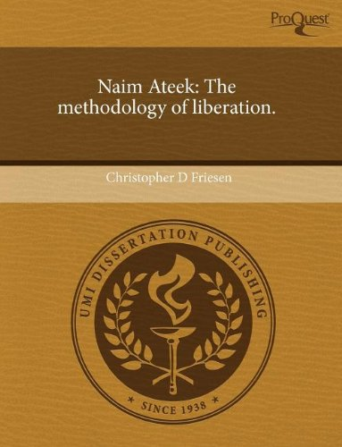 Naim Ateek: The methodology of liberation.