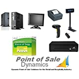 Retail Point of Sale System Featuring QuickBooks POS v12 Basic 2015