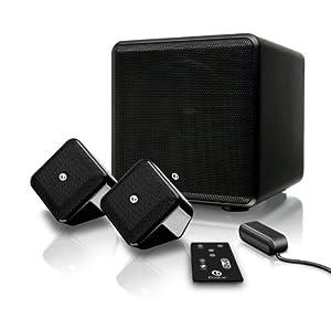 Boston Acoustics Soundware XS Digital Cinema with Dolby Digital Decoding Optimized Virtual Surround - Black