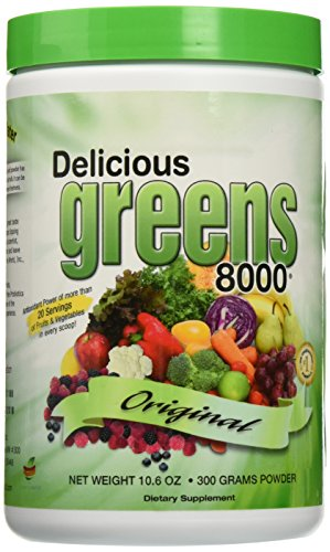 Greens World - Delicious Greens 8000 Original Flavor - 10.6 oz. (Super Greens 8000 compare prices)