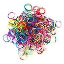 Jacks - Loom Bands - Recharge 250 Elastiques à Tisser Tricolore