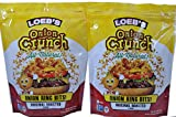 LOEBS Onion Crunch, 5-Ounce (Pack of 2)