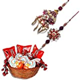 Bhaiya Bhabhi Rakhi With Chocolate Hamper