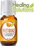 Sweet Orange (Organic) 100% Pure, Best Therapeutic Grade Essential Oil - 10ml