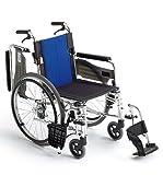 ミキ BAL?3 多機能型 自走型車いす BAL-3 ブルー 40