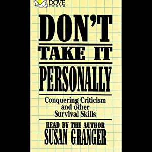 Don't Take It Personally Audiobook