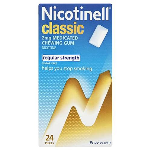 Nicotinell Chewing Gum 2mg Classic - 24 Pieces