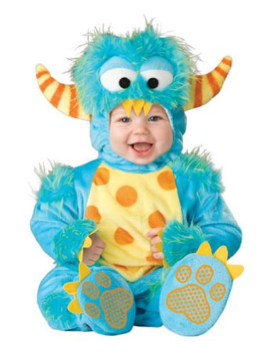 6-12 Months - Lil Monster Baby Costume 6-12 Months