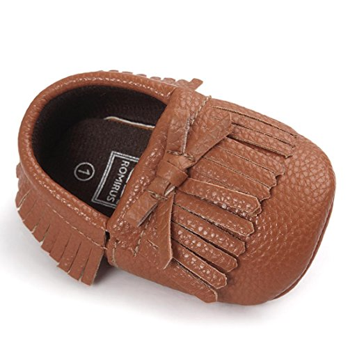 Fulltime® Bébé glands Bowknot Chaussures enfant Sneakers Casual chaussures antidérapantes