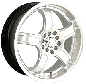 "Sacchi S52 252 Hypersilver Wheel with Machined Face and Lip (17x7"")"