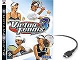 echange, troc Virtua tennis 3 (+ cable hdmi)