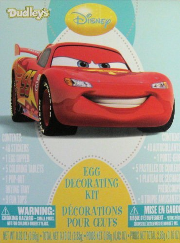 Disneys Cars Easter Egg Decorating Kit