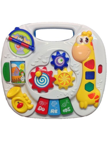 2 in 1 Baby Musical Toy Table and Activity Center for the Crib