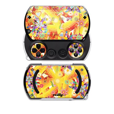 Wall Flower Design Decal Skin Sticker for the Sony PSP Go