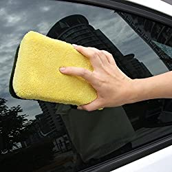 HOME CUBE® 1 Pc Multipurpose Household, Car, Bike Cleaning Sponge / Drying Towel (For WET or DRY Cleaning) - Random Color