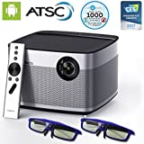 XGIMI H1 Native 1080p Projector HD Android Smart Projector 3D Home Theater Projector TV Harman Kardon Customized...