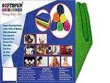 SOFTSPUN MICROFIBER BABY/KIDS HAIR, HAND & FACE CARE TOWEL - 40x60 CMS - GREEN
