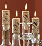 Wine Cork Candles - Set of 4