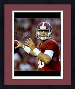 Framed McCARRON, AJ AUTO (ALABAMA RED) 16x20 PHOTO - Memories - Mounted Memories... by Sports Memorabilia