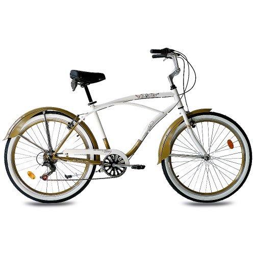Bicicleta urbana cruiser de 26 pulgadas
