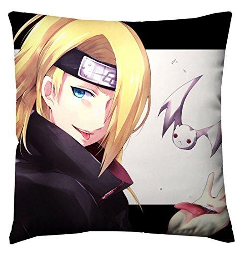[CosCos Naruto Akatsuki Deidara Logo Cozy Pillow Cushion Cosplay] (Naruto Deidara Cosplay Costume)