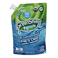 Greenshield Organic, Usda Organic Free and Clear Liquid Laundry Detergent, 38-Ounces