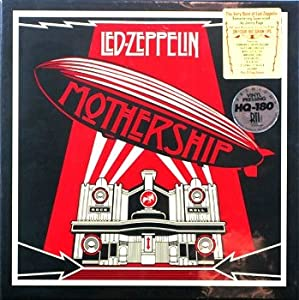 "LED ZEPPELIN "" MOTHERSHIP "" THE VERY BEST OF REMASTERED 180 GRAM 4 VINYL LP RECORD ALBUM BOX SET (VERY VERY LIMITED QUANITY) ORDER NOW"