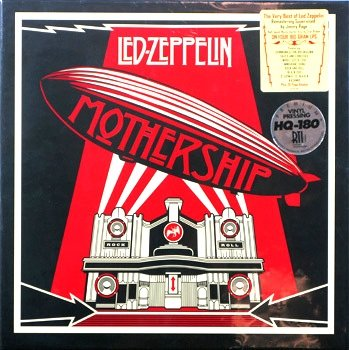 """Led Zeppelin """" Mothership """" The Very Best Of Remastered 180 Gram 4 Vinyl Lp Record Album Box Set (Very Very Limited Quanity) Order Now"""