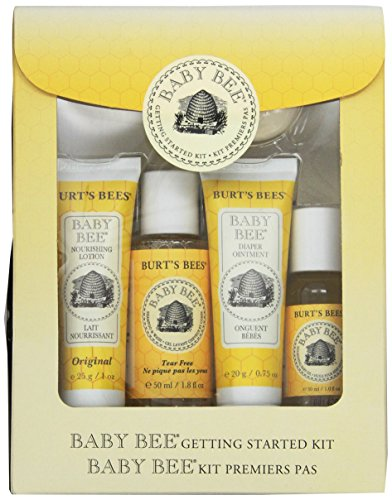 Burt's Bees Baby Bee Getting Started Gift Set 宝宝洗护五件套 $8.83(约¥100)