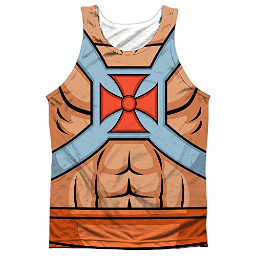 Masters Of The Universe He Man Costumes Mens Sublimation Tank Top - S to XXXL
