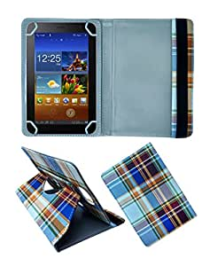 Fastway Rotating 360 Deg Leather Flip Stand Cover For Celkon CT-910+ -Multicolor