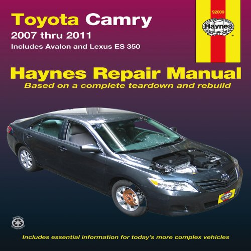 haynes-toyota-camry-and-lexus-es-350-automotive-repair-manual-models-covered-toyota-camry-and-avalon