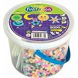 Perler Fun Fusion Fuse Bead Bucket, Glow in The Dark