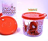 Spider-Man Transparent Plastic Kids Mug With Lid