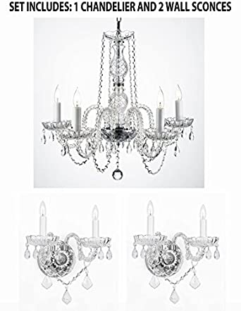 Crystal Chandelier Wall Sconces