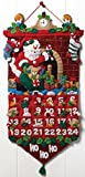 サンタ アドベント カレンダー アップリケ フェルト キット-1325x をする必要があります。
